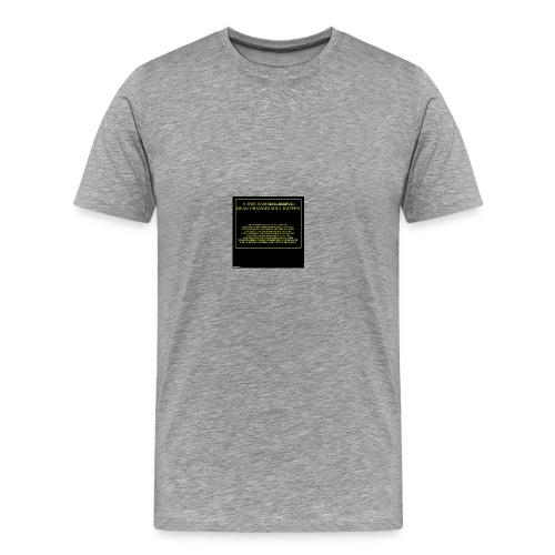 #HASHTAG TO CHANGE OPINIONS - Men's Premium T-Shirt