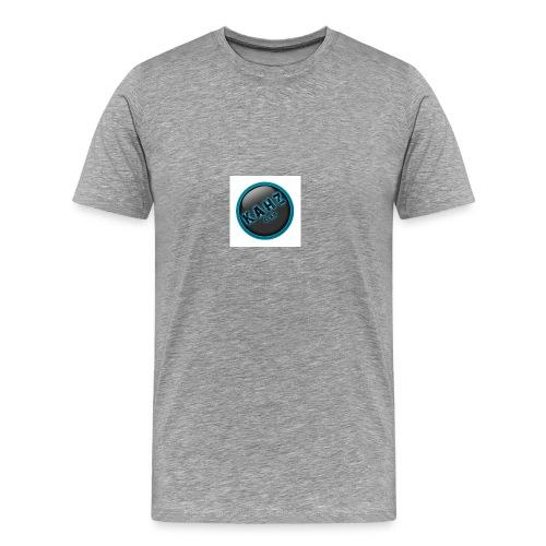 kahz clan logo wit - Mannen Premium T-shirt
