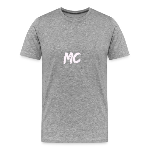 MC Merch T-shirt - Small badge (Black) - Men's Premium T-Shirt