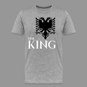 The king of albania kosovo albanisch t-shirt - Männer Premium T-Shirt