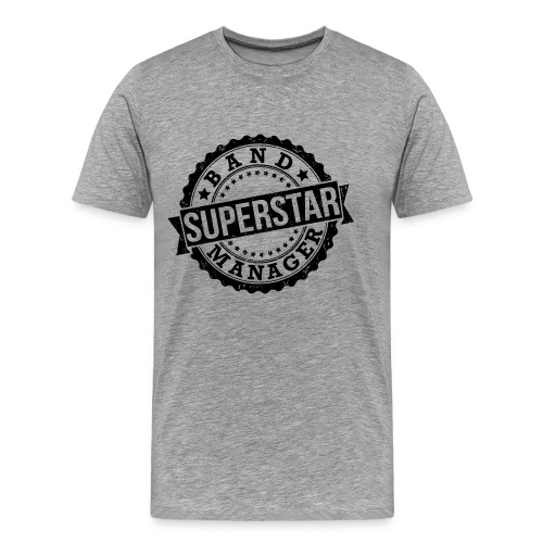 Superstar Band Manager Logo Black - Men's Premium T-Shirt