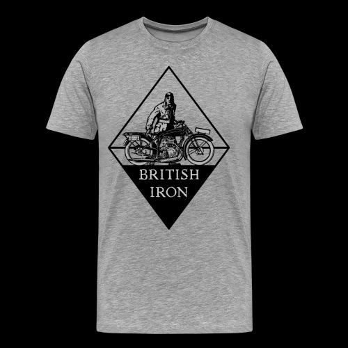 BRITISH IRON - Männer Premium T-Shirt