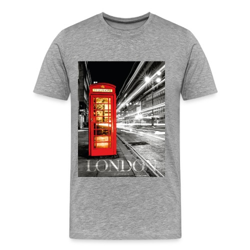 London | 8SAP City Collection - Männer Premium T-Shirt
