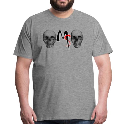skulls - Mannen Premium T-shirt