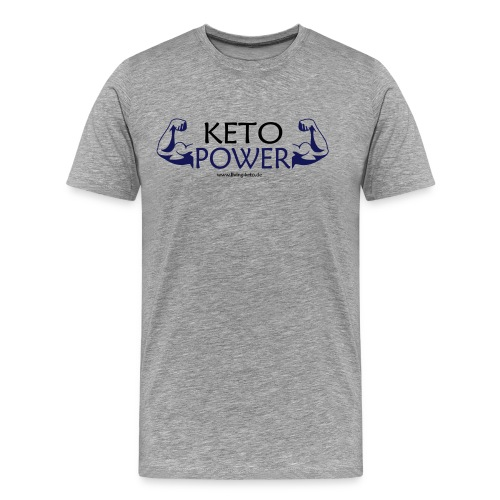 Keto Power - Männer Premium T-Shirt