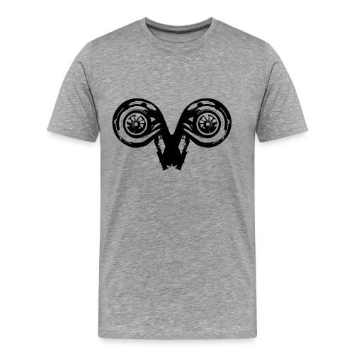 projekty znakow zodiaku moto BARAN - Koszulka męska Premium