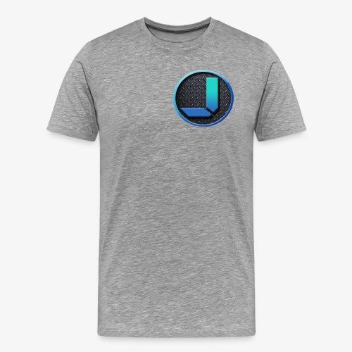 Jamie Sanden's logo - Premium-T-shirt herr