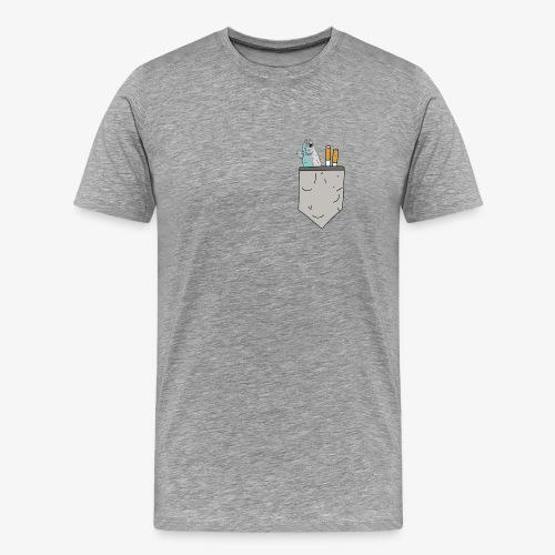 brusttaeschle - Männer Premium T-Shirt