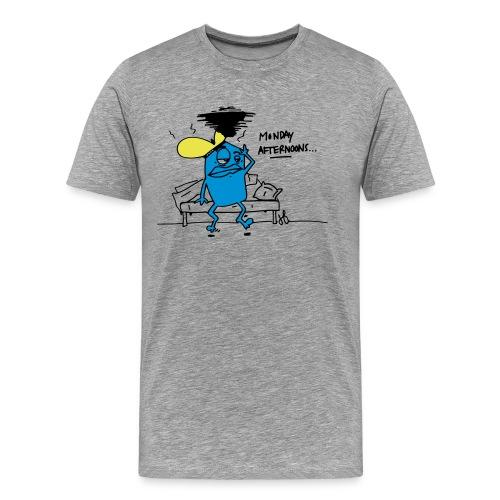 Happy monday - Mannen Premium T-shirt