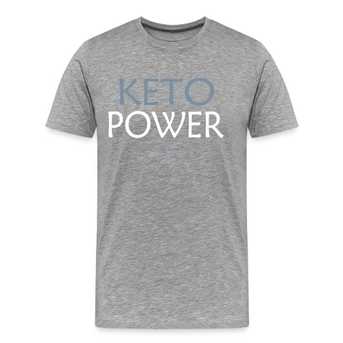 Keto Power1 - Männer Premium T-Shirt