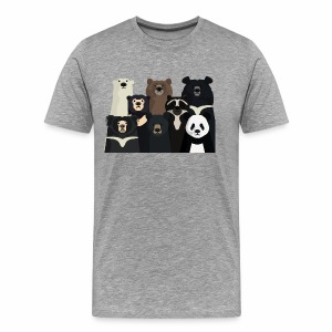 Bears of the world - Men's Premium T-Shirt