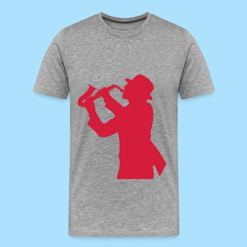 Saxofoon - Mannen Premium T-shirt