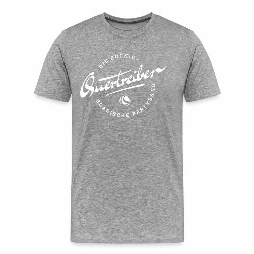 Quertreiber Logo 2017 - Männer Premium T-Shirt