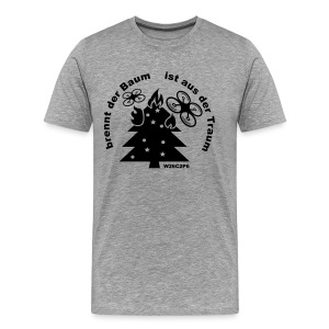 burning tree - Männer Premium T-Shirt