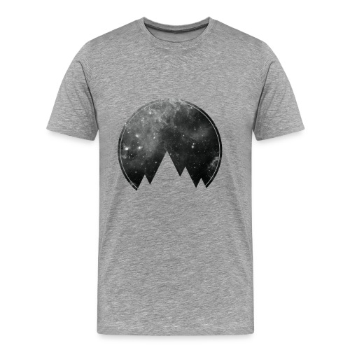 Space Mountains - Männer Premium T-Shirt