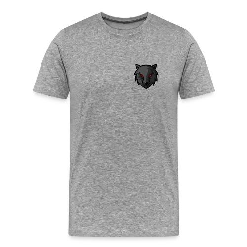 LoneWolf Black - Camiseta premium hombre
