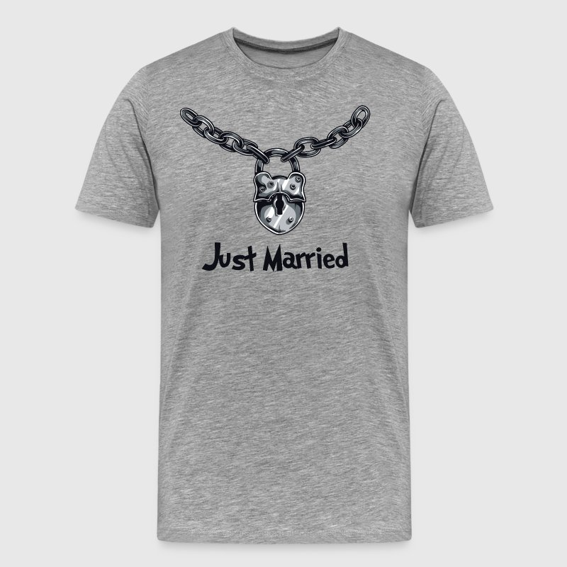 Just Married - Koszulka męska Premium