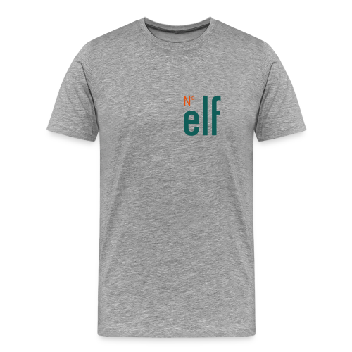 No. elf Logo - Männer Premium T-Shirt