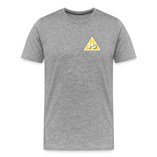Plato Games Logo Klein - Mannen Premium T-shirt