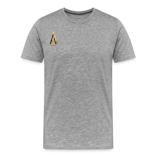 Simple Black - Männer Premium T-Shirt