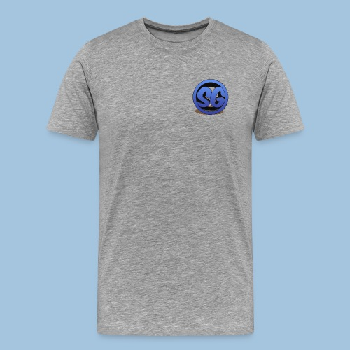 SompigGames Logo Vernieuwd - Mannen Premium T-shirt