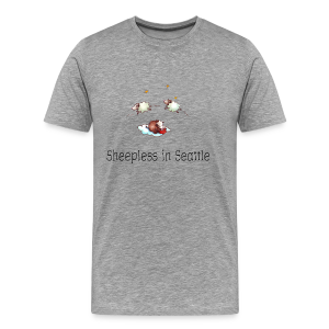 Sheepless in Seattle - Sheep Storys - Männer Premium T-Shirt