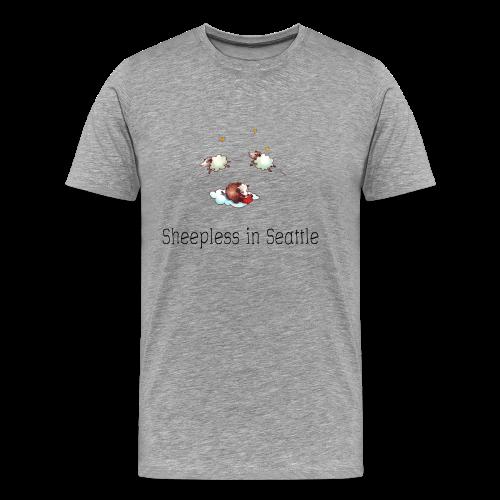 Sheepless in Seattle - Sheep Storys - Männer Premium T-Shirt