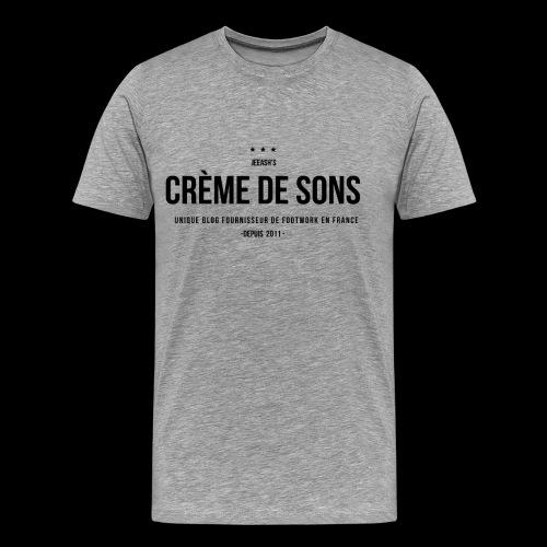 Creme de Sons Logo V0 24fra Fournisseur Footwork - T-shirt Premium Homme