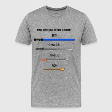 GEFÄHRLICHSTEN KLINGEN IN DER GESCHICHTE - Männer Premium T-Shirt