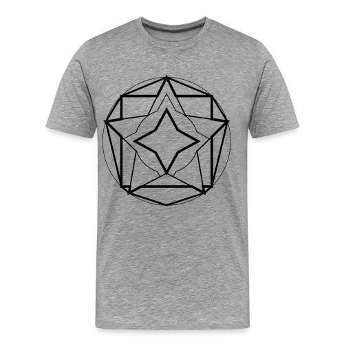 star - Camiseta premium hombre