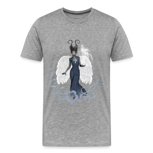 Impresionante hada con alas y agua - Camiseta premium hombre