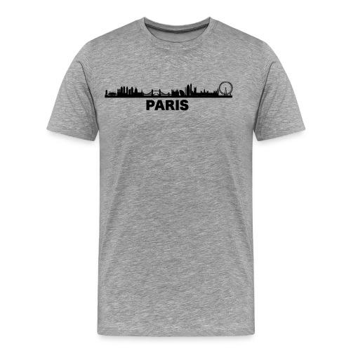 Verwirrendes Städte T-Shirt Paris London - Männer Premium T-Shirt