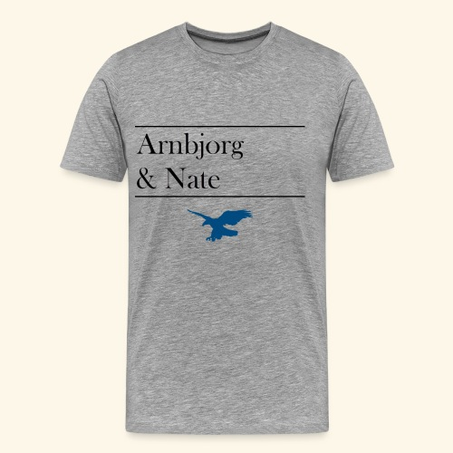 Blue Arnbjorg - Männer Premium T-Shirt
