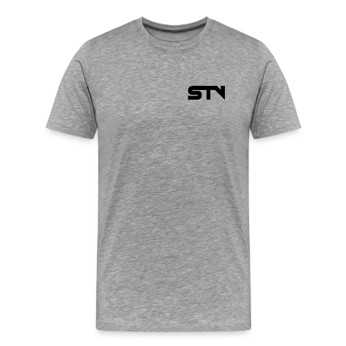 STV Logo Black - Men's Premium T-Shirt
