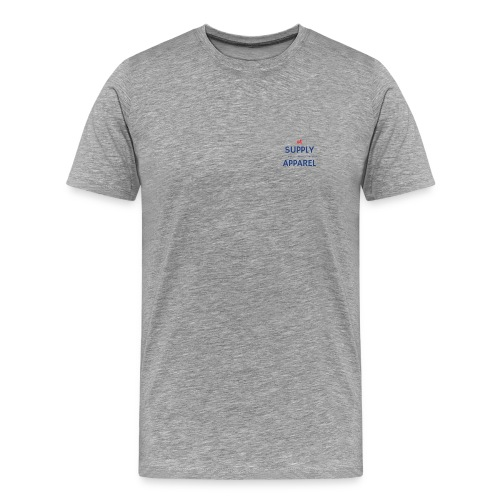 Plain EST logo design - Men's Premium T-Shirt