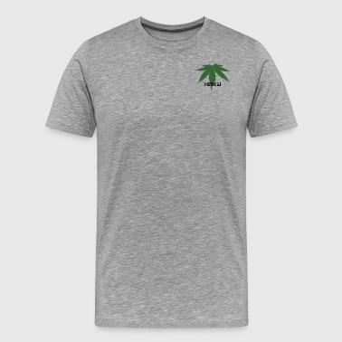Grundlæggende slid-Yencli - Herre premium T-shirt