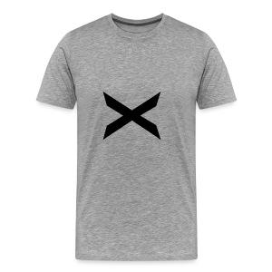 X-hoodie - Premium T-skjorte for menn