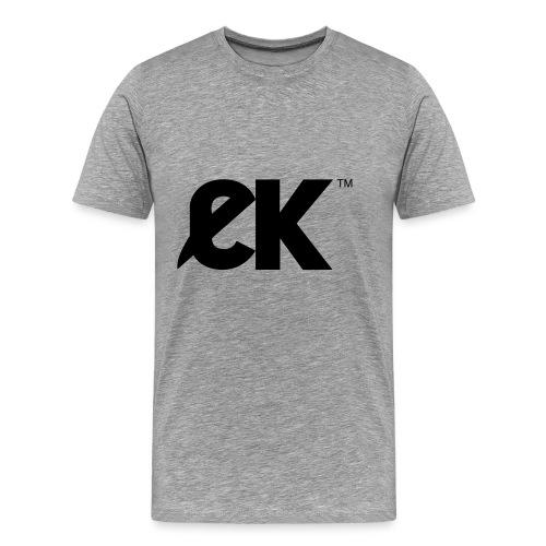 EK logo Black Centred - Mannen Premium T-shirt