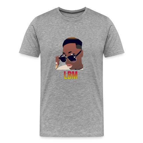 Logo et écriture Lbm - T-shirt Premium Homme