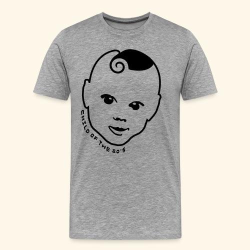 80er T-Shirt ✫ Child of the 80s ✫ - Männer Premium T-Shirt