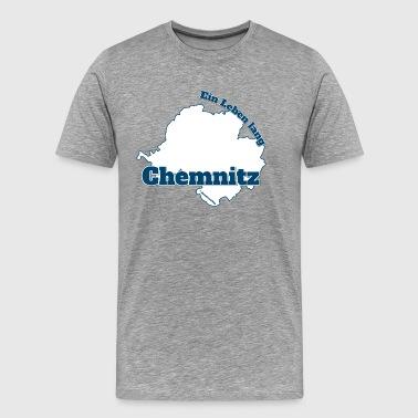 Chemnitz - Une vie - T-shirt Premium Homme