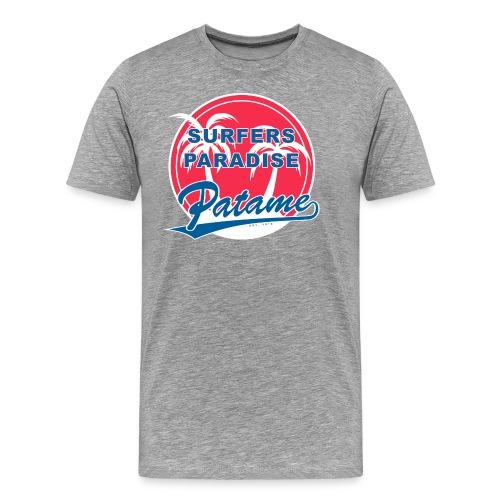 Patame Surfers Paradise RedWhite - Männer Premium T-Shirt