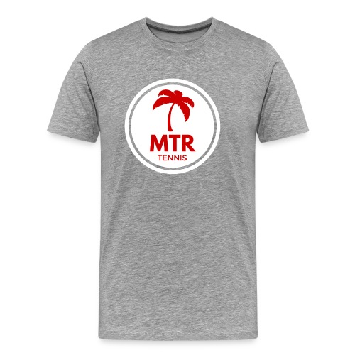 MTR Tennis White - Men's Premium T-Shirt