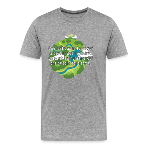 our earth - Men's Premium T-Shirt