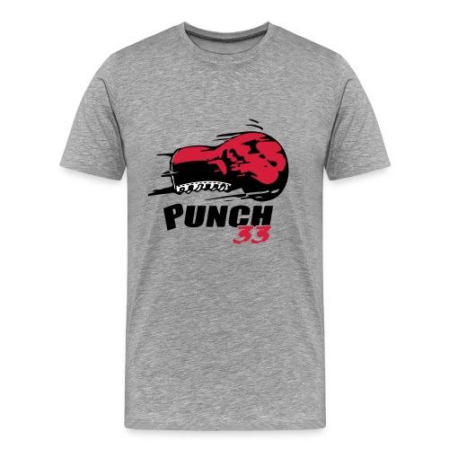logo punch 33 - T-shirt Premium Homme