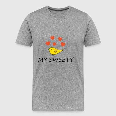 Sweety | słodkie piskląt - Koszulka męska Premium