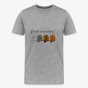 Keep Evolving! - Männer Premium T-Shirt
