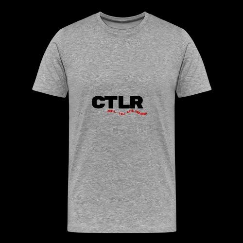 CHILL TIL LATE RECORDS - Men's Premium T-Shirt