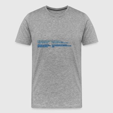 La prière du Seigneur - T-shirt Premium Homme