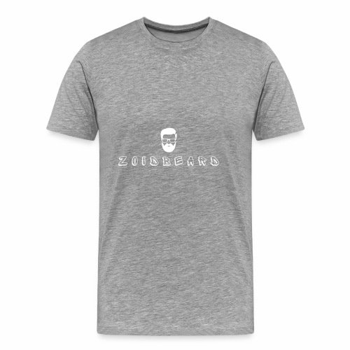 Zoidbeard - Logo - Weiß - Männer Premium T-Shirt